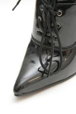High heeled shoe closeup