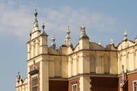 sukiennice old trade center, krakow, poland