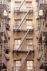 Fire Escape - NY Apartment Building