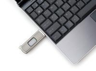 Laptop and USB Key