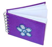 An open notebook