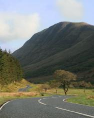 Rural Scottish Road