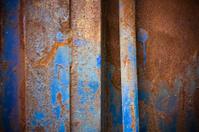 Grunge metallic surface