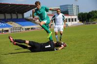 Succsessful goalie defence