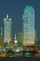 Dallas Skyscrapers at Dusk