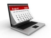 August 2009 - Computer Calendar series