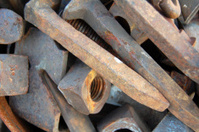 Rusted Nails & Bolts
