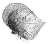 knight`s helmet