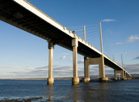 Kessock Bridge at Inverness, Scotland