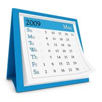 May 2009 - Calendar series
