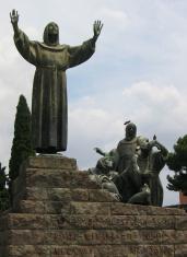 Uplifted St. Francis -- Roma, Italia