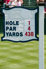 Golf Hole Number 1