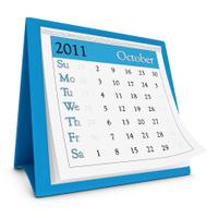 October 2011 - Calendar series