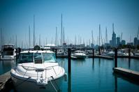 Boats at Chicago Marina
