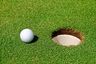 Golf Ball & Hole