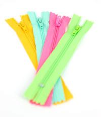 Mulitcoloured Zips