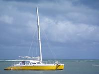 Boat in paradise