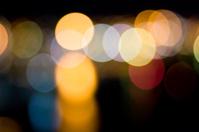 Bokeh of night lights