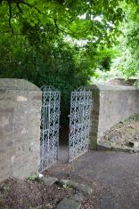 church yard gates