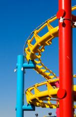 Old Roller Coaster Track