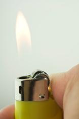 cigarette lighter   isolated on white background