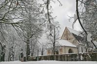 Cavalese con neve