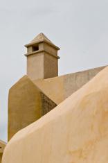 Monastary wall and tower