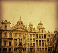 antique building in Europe