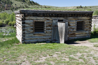 Old Fashion Jail Bannack Montana