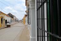 Quiet Colombian Street