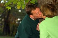Midlife Series: Kiss Behind A Tree