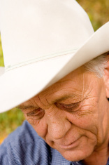 Old Cowboy / Looking Down