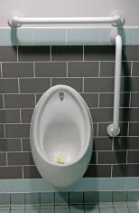 mans urinal