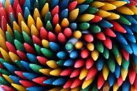 Color toothpicks