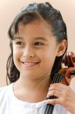 Young Cello player