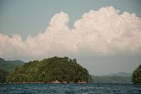 Island in the lake