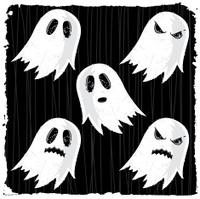 Halloween Spooky Ghost Set