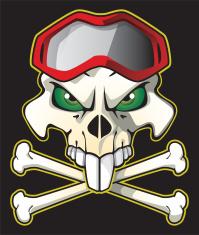 Pirate biker