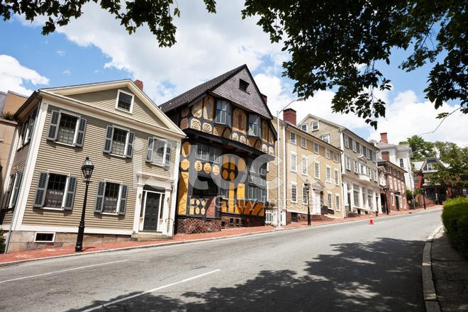India Street Providence Rhode Island  Usa