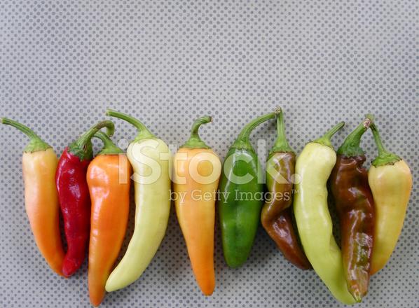 Pepper Varieties Stock Photos - FreeImages com