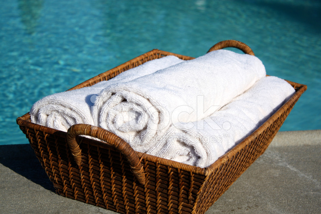 Swimming Pool Towels Stock Photos - FreeImages.com