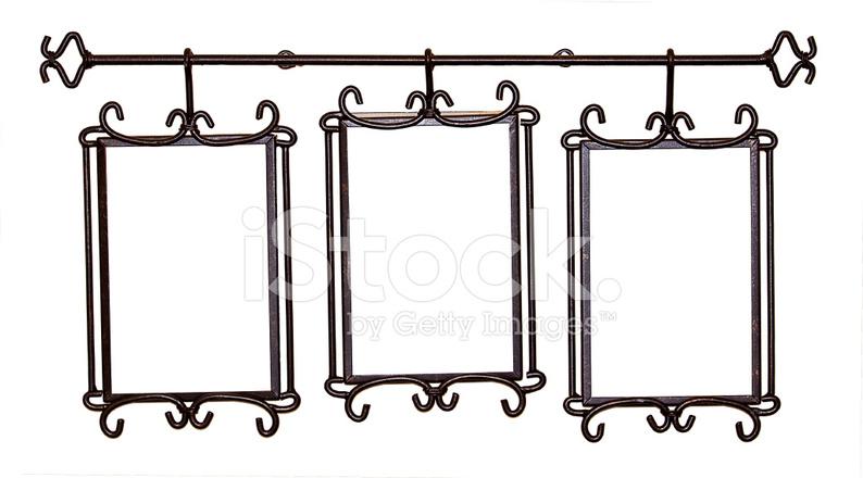 antik metall bilderrahmen stockfotos. Black Bedroom Furniture Sets. Home Design Ideas