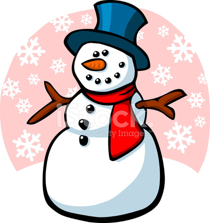 Bonhomme de neige dessin anim stock vector - Clipart bonhomme de neige ...