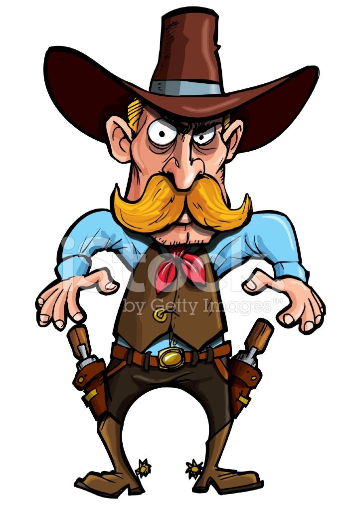 cowboy about to draw his guns stock photos freeimages com Flower Design Clip Art Clip Art Zebra Cartoon