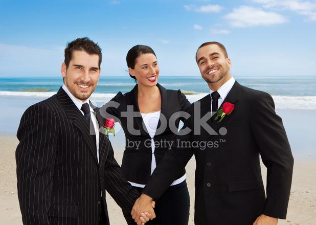 ślub Gejów Na Plaży Zdjęcia Ze Zbiorów Freeimagescom
