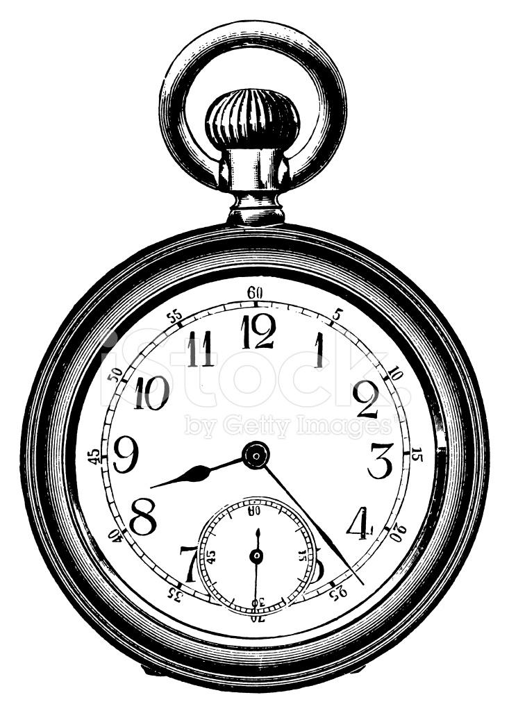 pocket watch clipart - photo #19