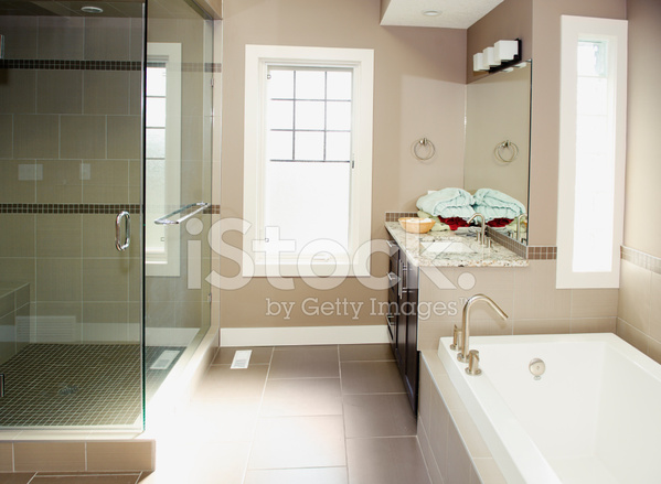 Moderne badkamer stockfoto s freeimages