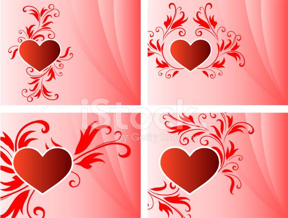 Cornice san valentino sfondo