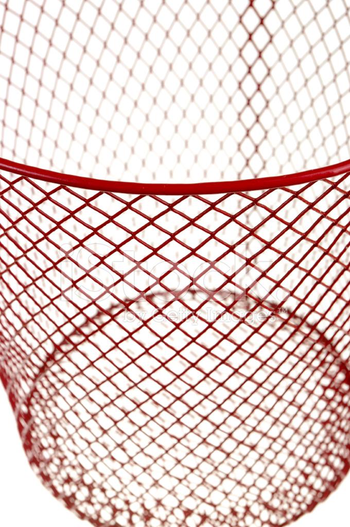 Auszug Aus Roten Draht Papierkorb Auf Weiß Stockfotos - FreeImages.com