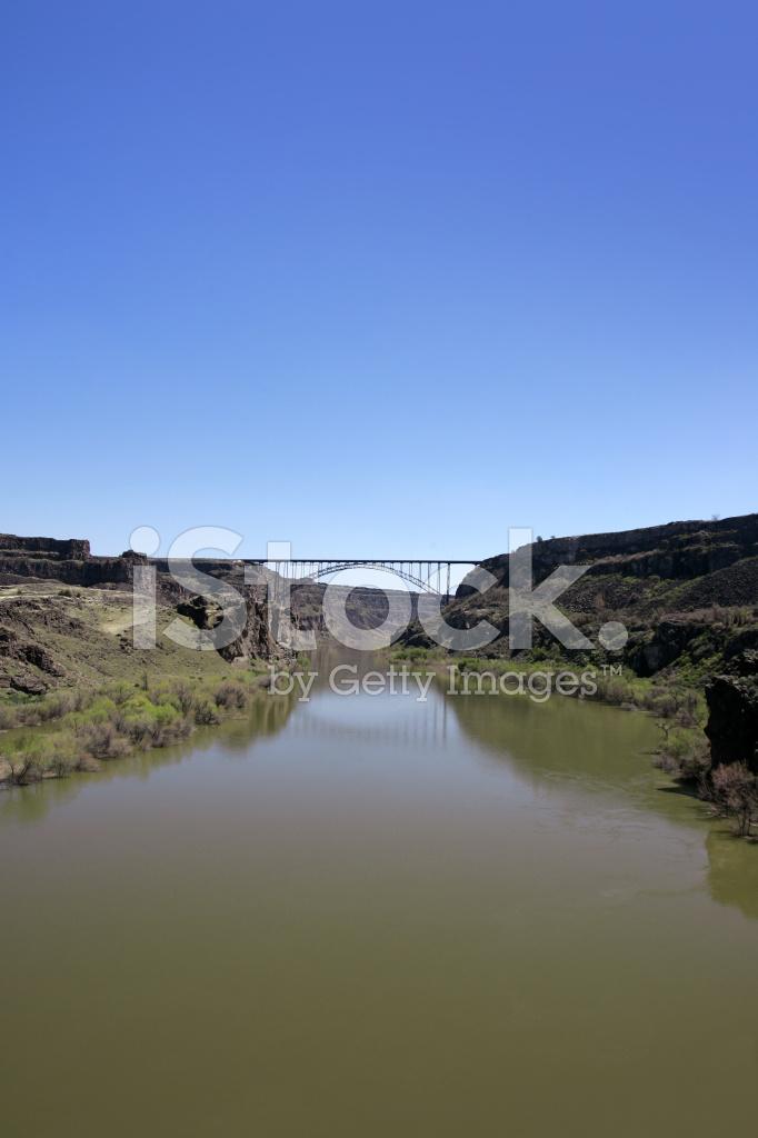 Perrine Bridge Twin Falls Idaho Stock Photos Freeimagescom
